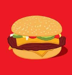 Cheseburger vector