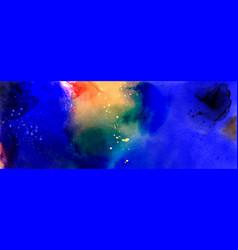 Deep sea water fantasy from splattered dark blue vector