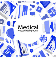 medical banner concept vector image