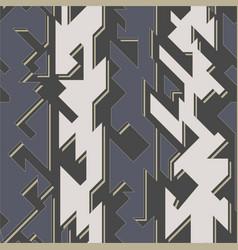 tech geometric seamless pattern vector image