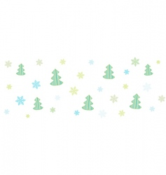 ball tree vector image