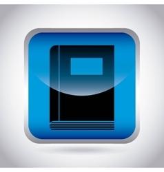 Book icon Audiobooks design graphic vector
