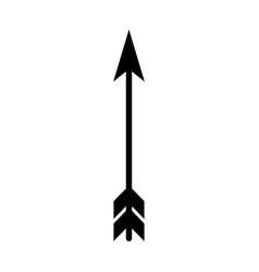 Dart arrow isolated icon vector