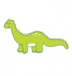 Dinosaur brontosaurus vector