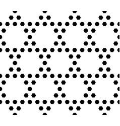 geometric seamless pattern hexagonal grid vector image