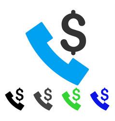 Payphone flat icon vector
