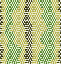 Snake skin seamless pattern background Leather vector image