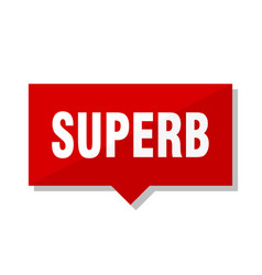 Superb red tag vector