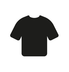 Tshirt icon on white background vector