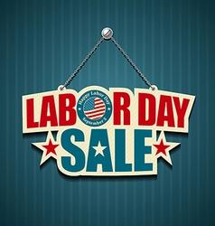 Labor day USA design vector image vector image