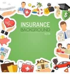 Insurance Services Concept vector image