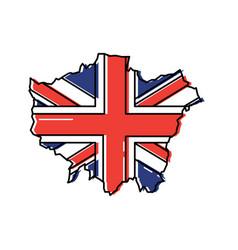 united kingdom icon image vector image