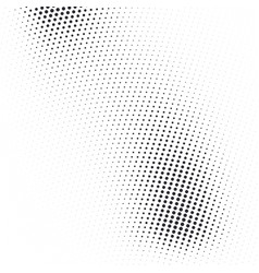 Abstract dotted halftone texture vector