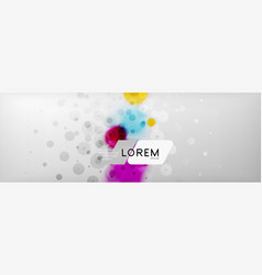 background abstract - blurred dotted color circle vector image