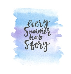 motivation poster every summer has story vector image