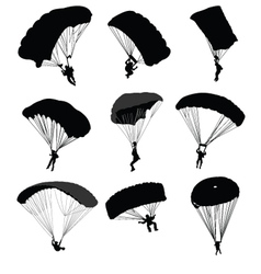 Parachuting vector