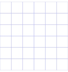Purple Grid White Background vector image
