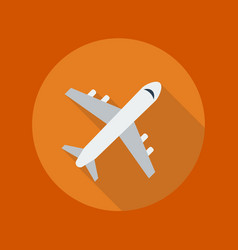 Travel Flat Icon Plane vector
