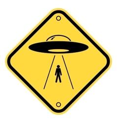 UFO ships vector image