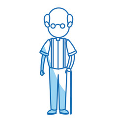 father dad male member of family vector image