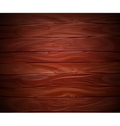 Realistic Mahogany wooden background vector image