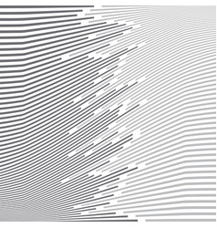 abstract minimal design wave stripe gray and vector image