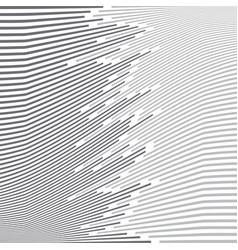 abstract minimal design wave stripe gray vector image