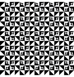 Abstract seamles monochrome pattern vector