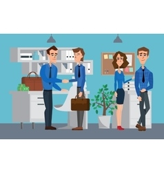 Business professional work team Business People vector