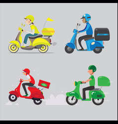 delivery order vector image