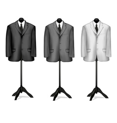Mannequin suites vector