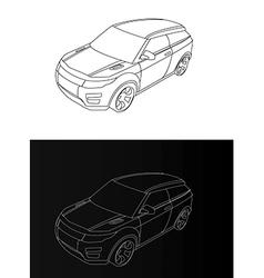 mash v vector image
