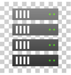 Server gradient icon vector