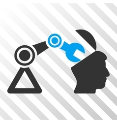 Open Head Surgery Manipulator Icon vector image vector image