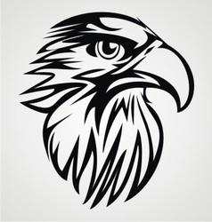 Eagle Head Tribal vector image vector image