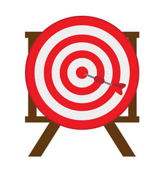 target shooting game vector image