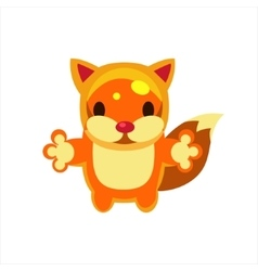 Fox Jelly Toy vector image vector image