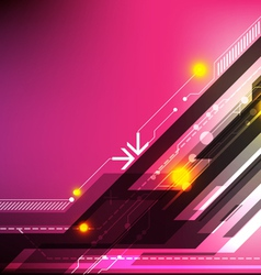 abstract design technology background vector image