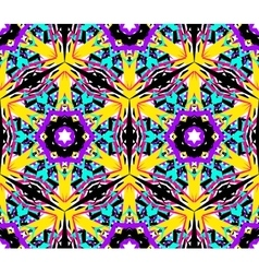 Abstract Flower Fractal Pattern vector