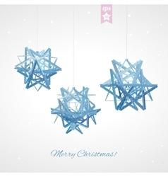 Geometric christmas ball Holidays Background vector image