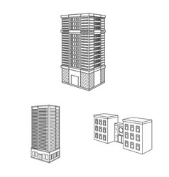 Home and apartment logo vector