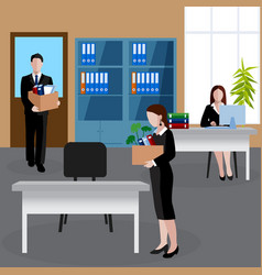 Human resources background vector