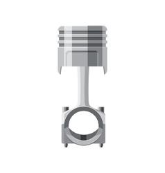 Piston icon in cartoon style vector image