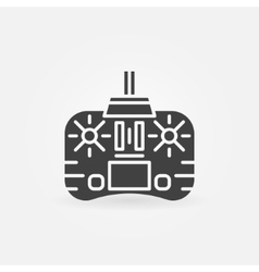Remote control icon or logo vector
