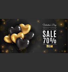 valentines day sale romantic love saint vincent vector image