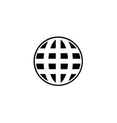 world wide web icon vector image
