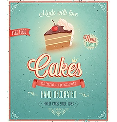 cakes2 vector image