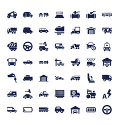 49 auto icons vector
