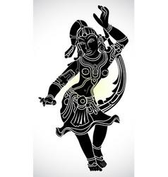 Dancing symbol vector