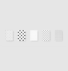 dots background template mockups dots background vector image